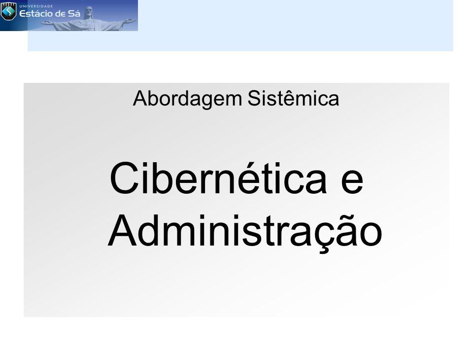 Cibernética e Administração