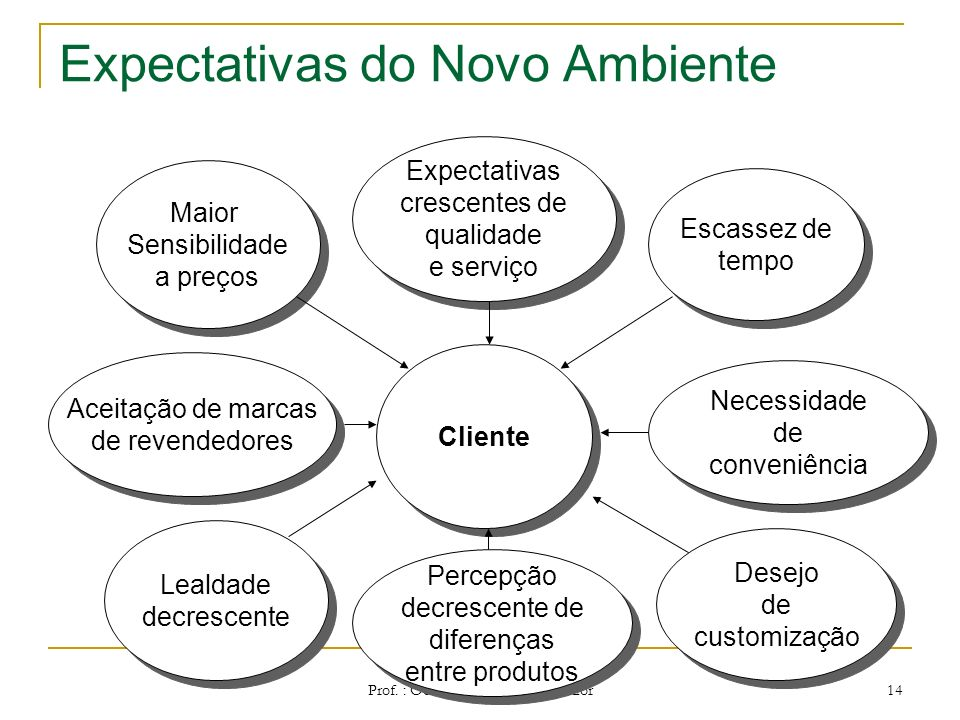 Expectativas do Novo Ambiente