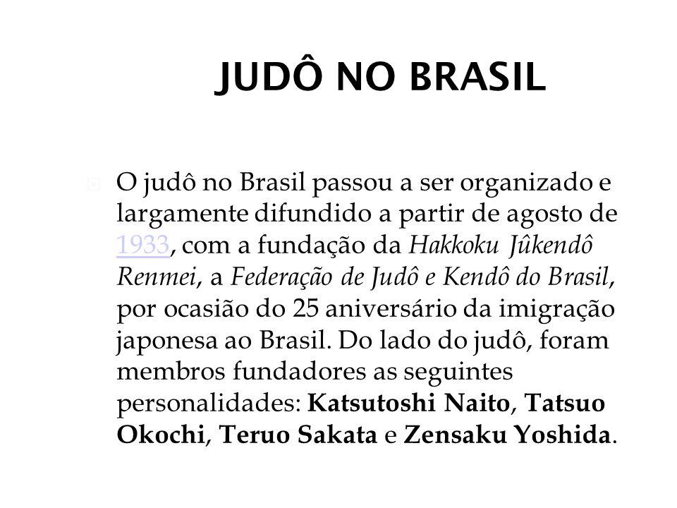 JUDÔ NO BRASIL