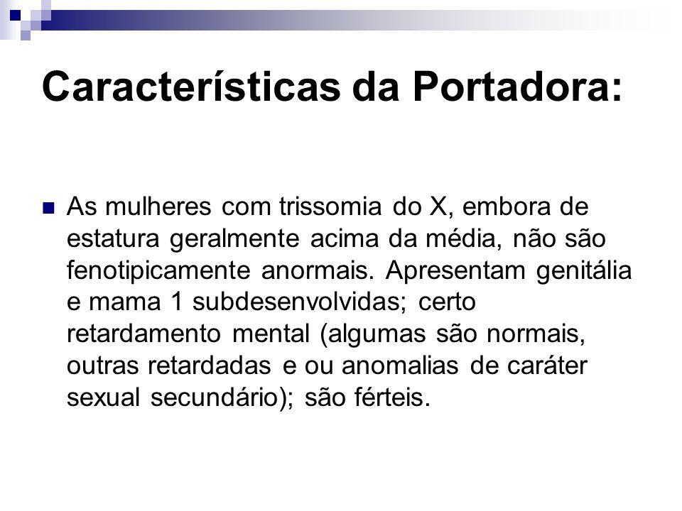 Características da Portadora: