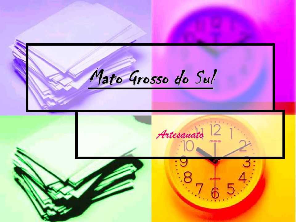 Mato Grosso do Sul Artesanato