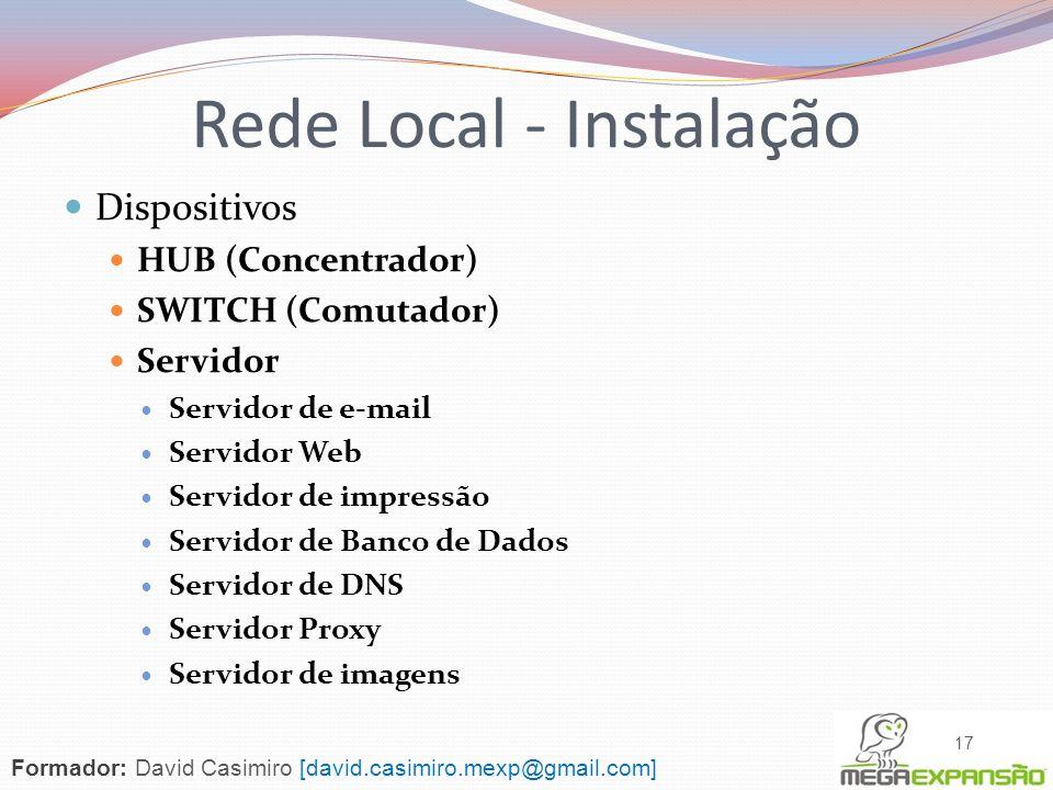 Rede Local - Instalação