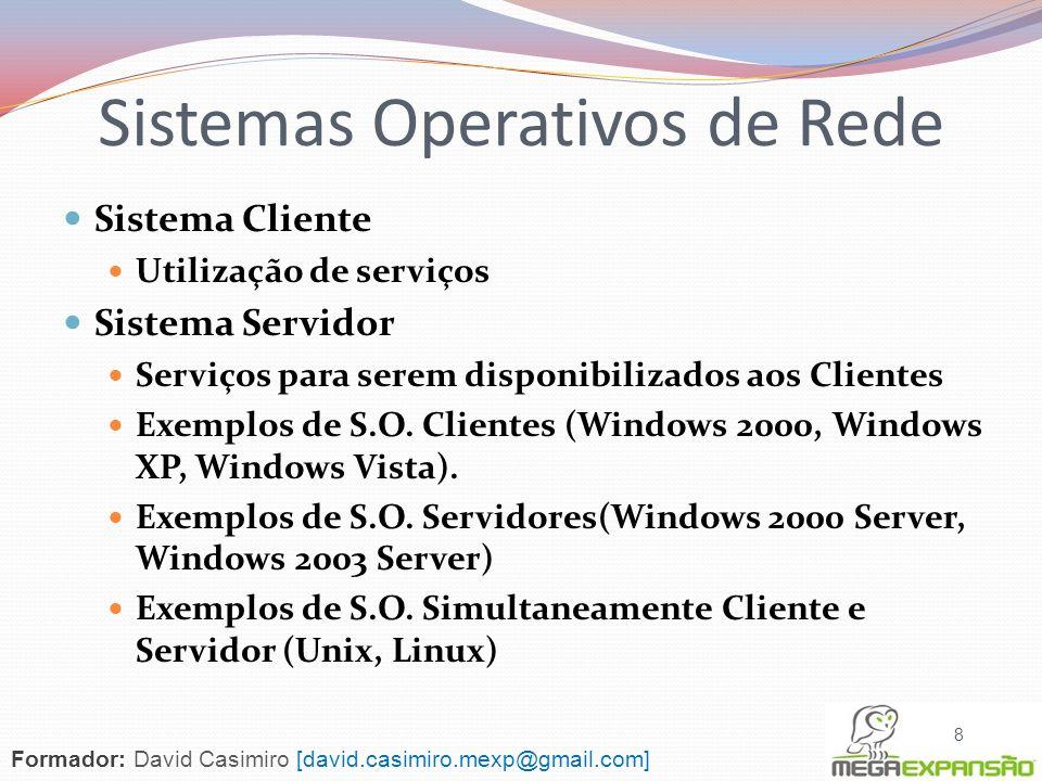 Sistemas Operativos de Rede