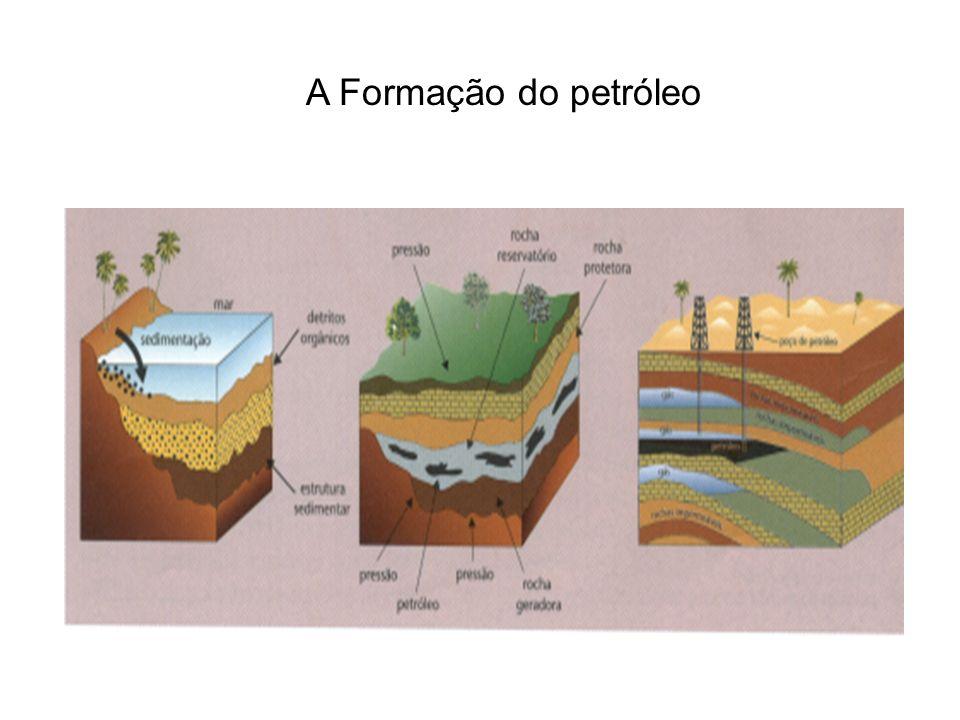 A Formação do petróleo