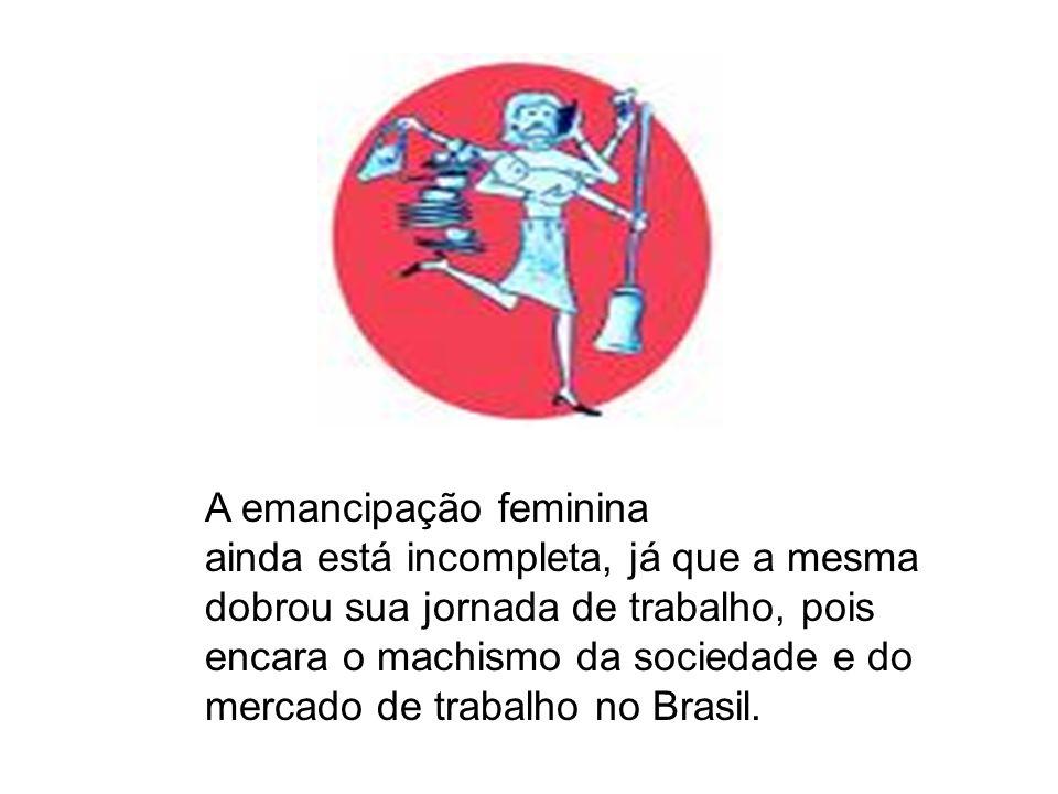 A emancipação feminina