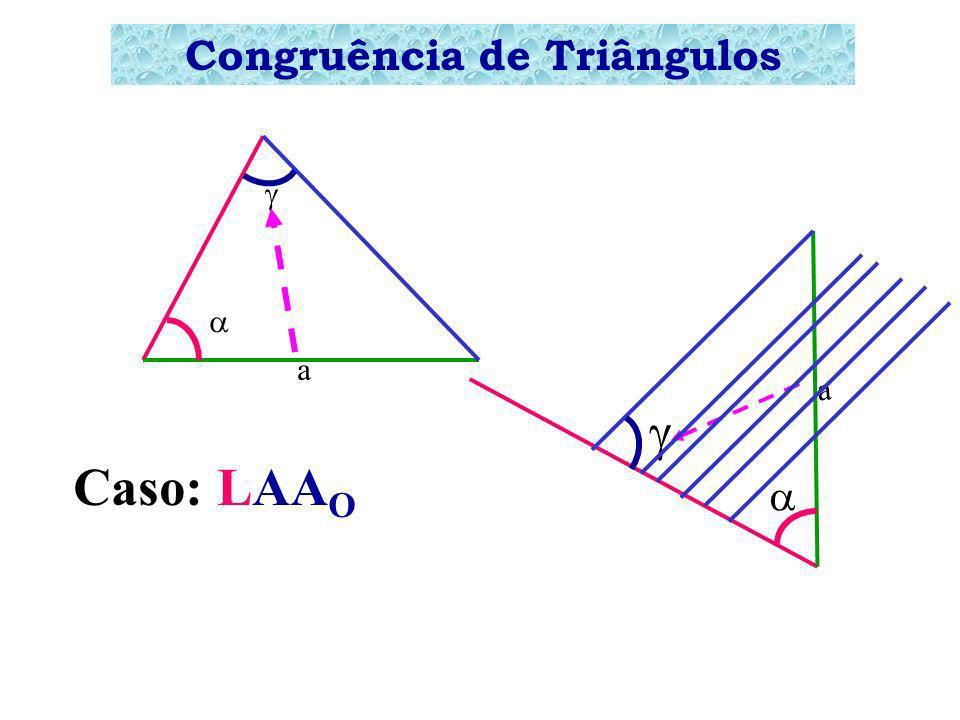 Congruência de Triângulos