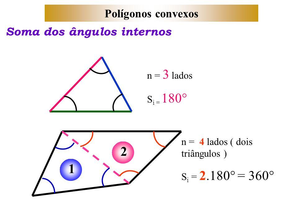 2 1 pol gonos convexos soma dos ngulos internos n 3