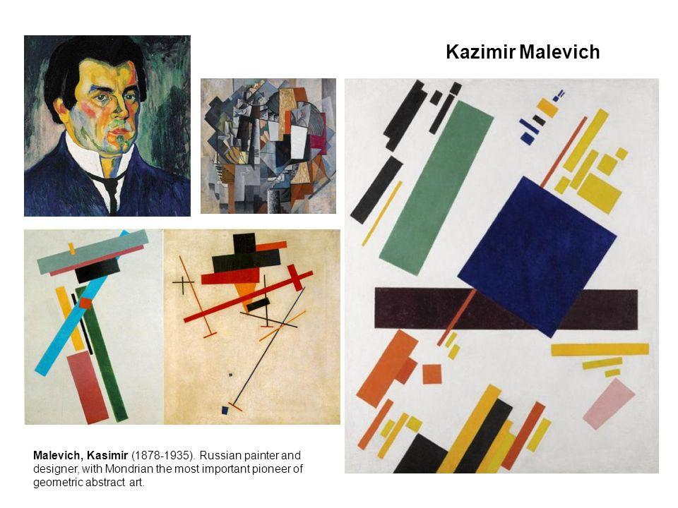 Kazimir Malevich Malevich, Kasimir (1878-1935).