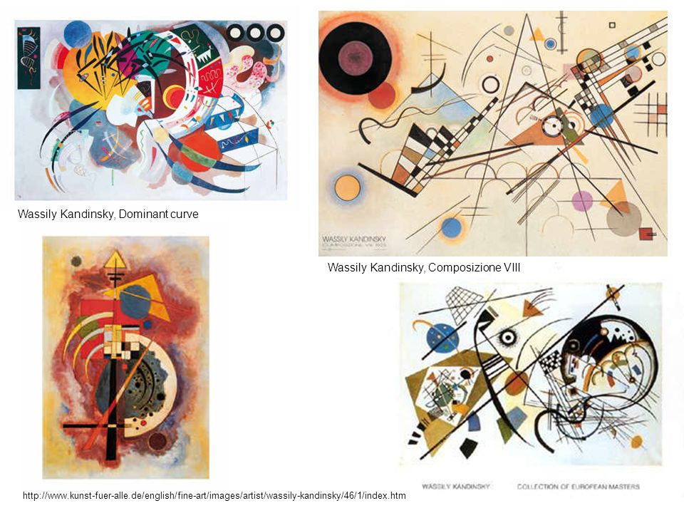Wassily Kandinsky, Dominant curve Wassily Kandinsky, Dominant curve