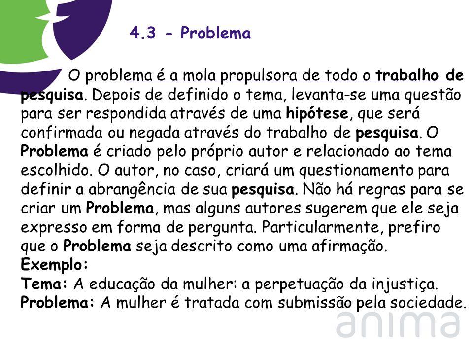 4.3 - Problema