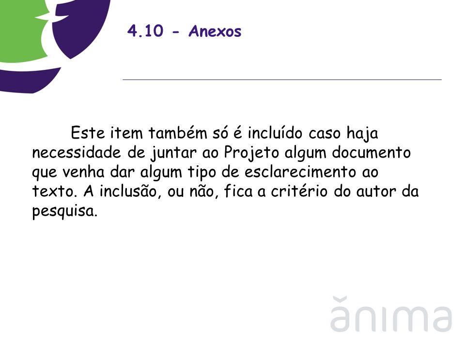4.10 - Anexos