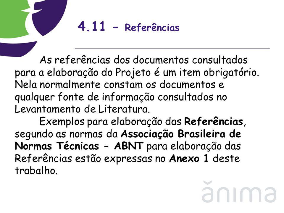 4.11 - Referências