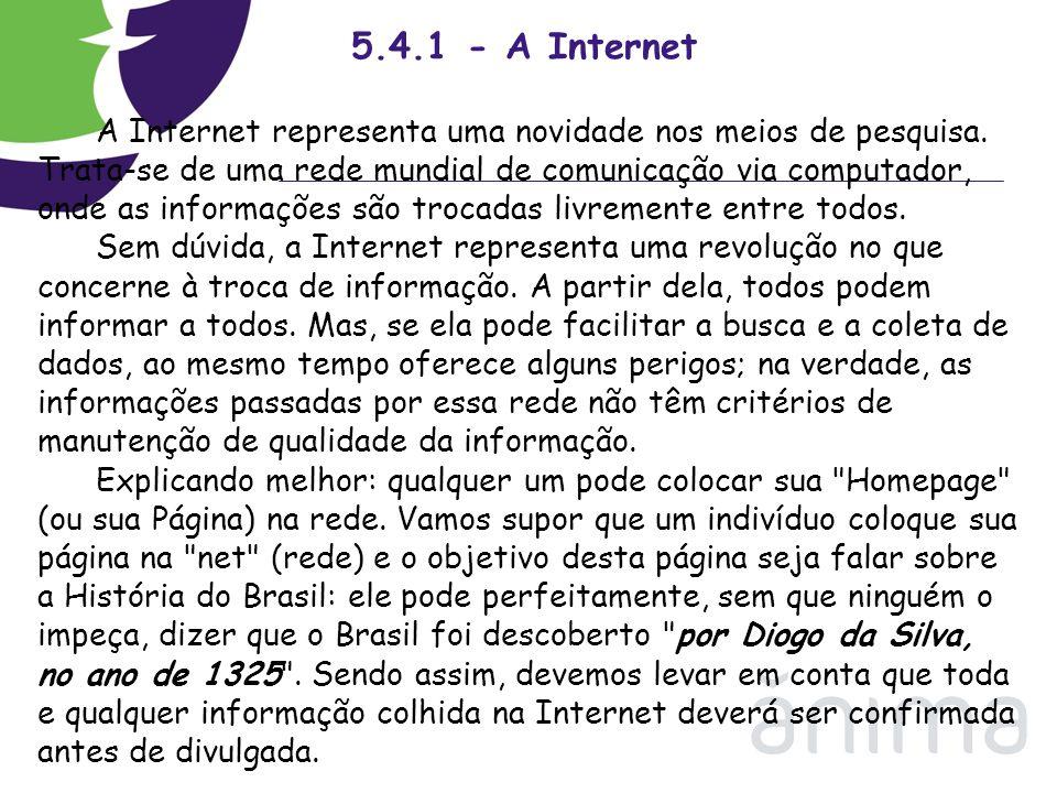 5.4.1 - A Internet