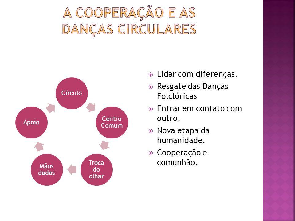 a cooperaÇÃO e as danÇas circulares