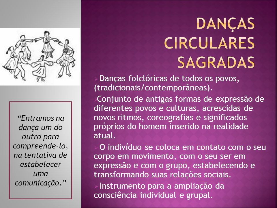 DANçAS CIRCULARES SAGRADAS
