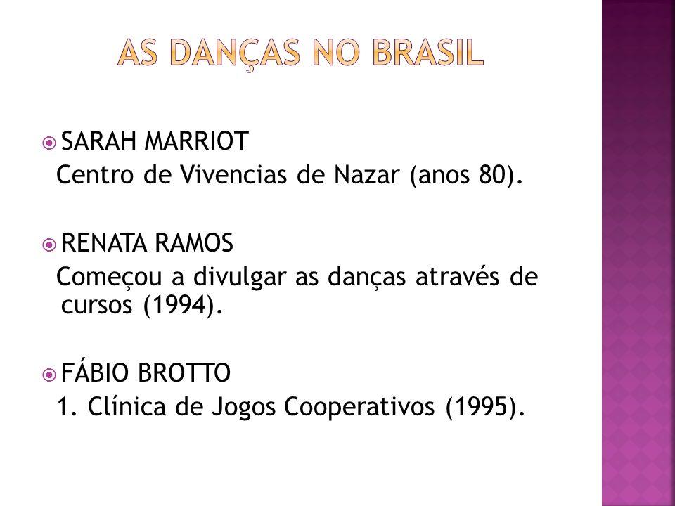 As DanÇas no brasil SARAH MARRIOT