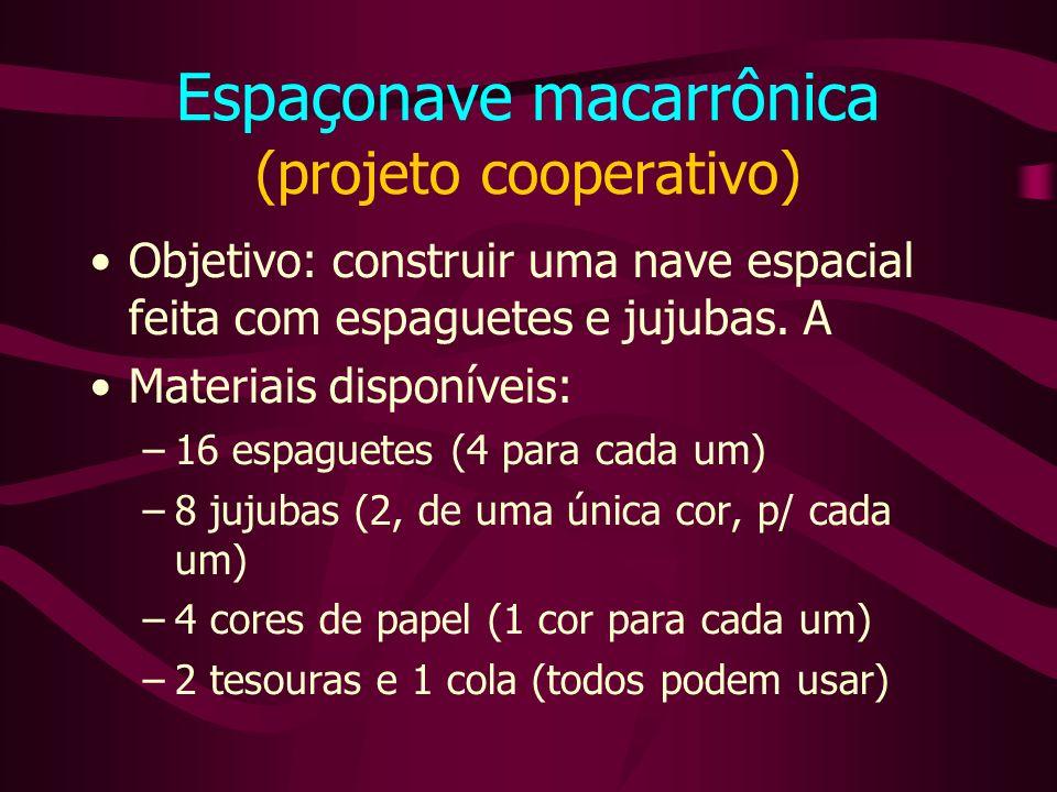 Espaçonave macarrônica (projeto cooperativo)