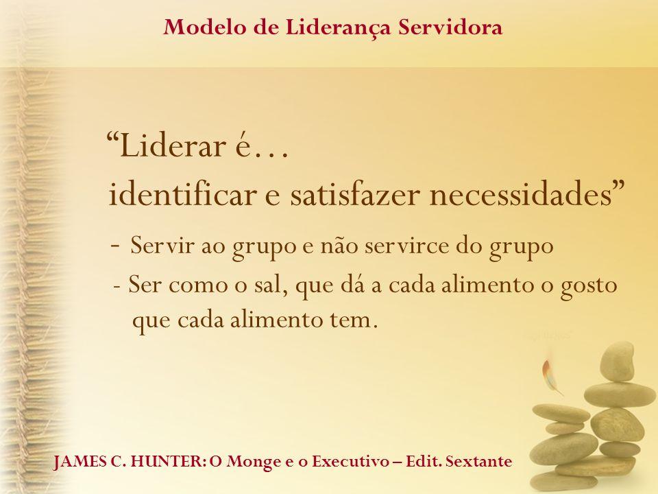 Modelo de Liderança Servidora