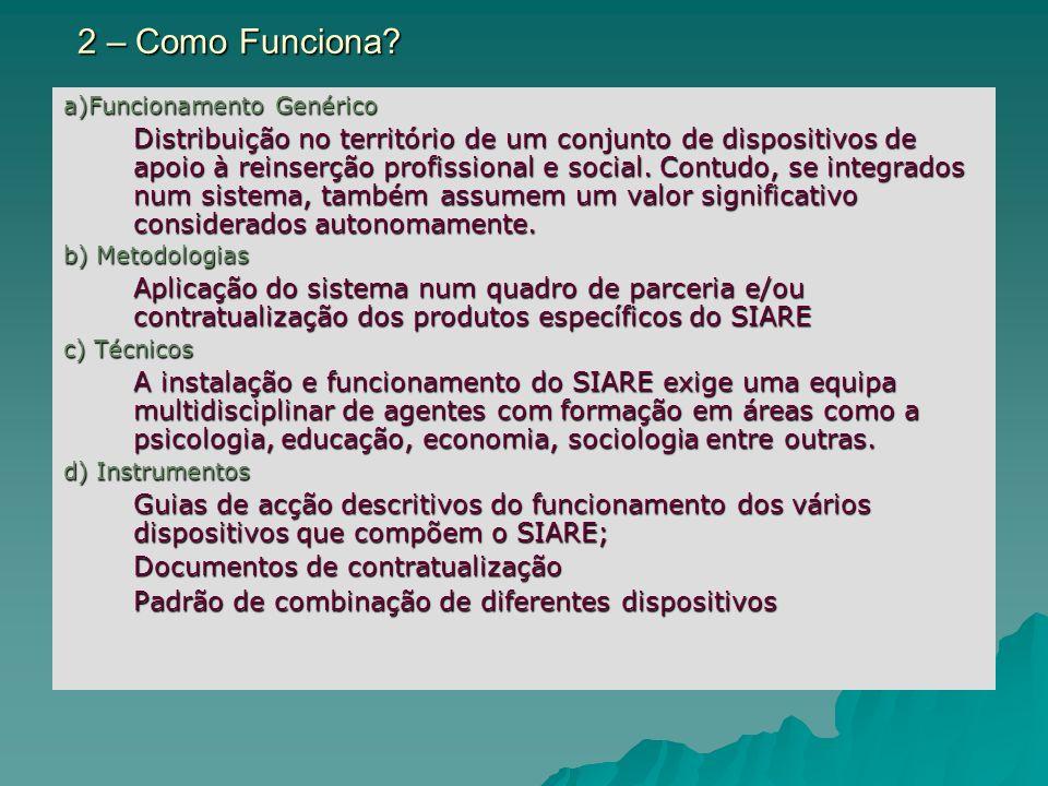 2 – Como Funciona a)Funcionamento Genérico.
