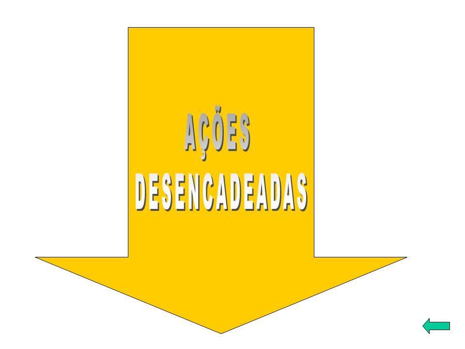 AÇÕES DESENCADEADAS