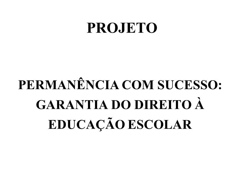 PERMANÊNCIA COM SUCESSO: GARANTIA DO DIREITO À EDUCAÇÃO ESCOLAR