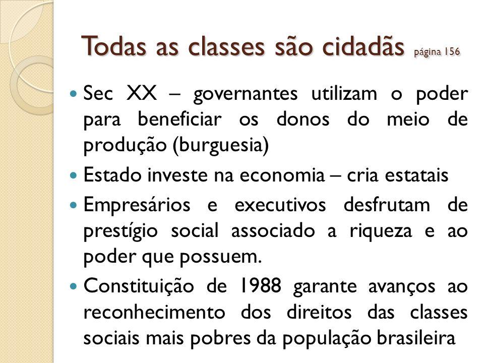 Todas as classes são cidadãs página 156