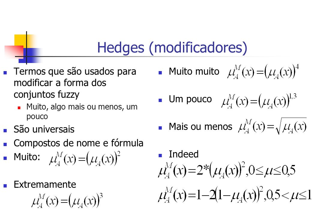 Hedges (modificadores)