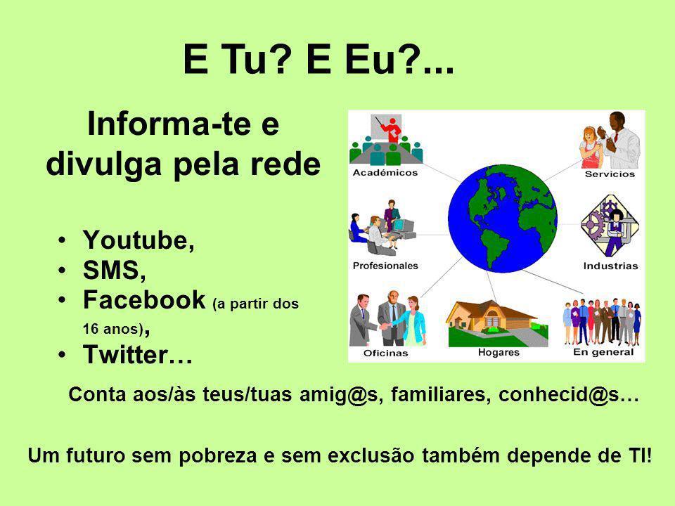 Informa-te e divulga pela rede