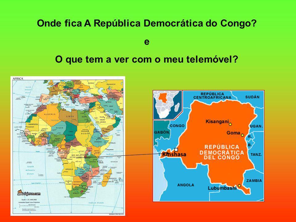 Onde fica A República Democrática do Congo e