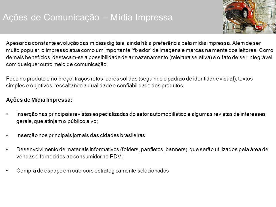 Ações de Comunicação – Mídia Impressa
