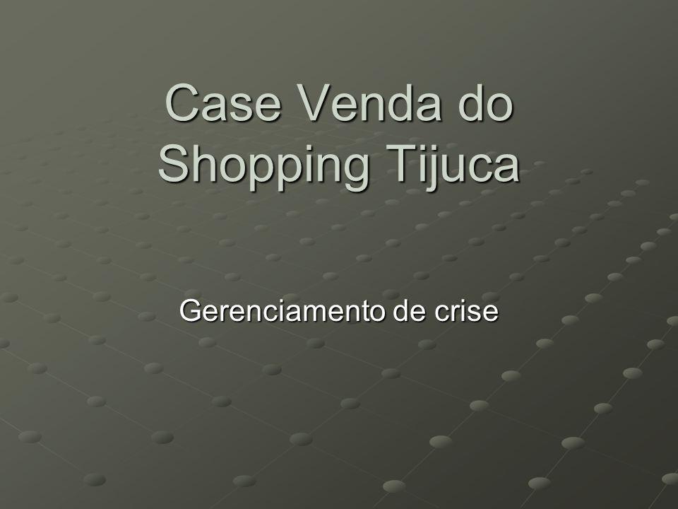 Case Venda do Shopping Tijuca