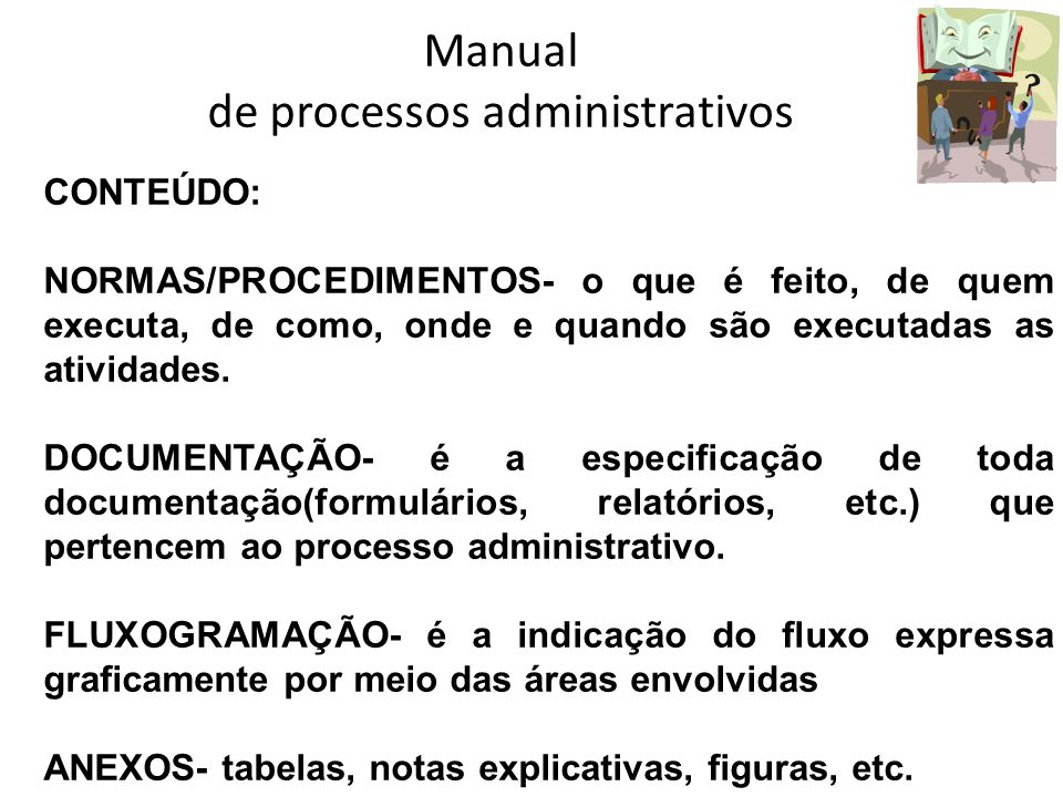 Manual de processos administrativos