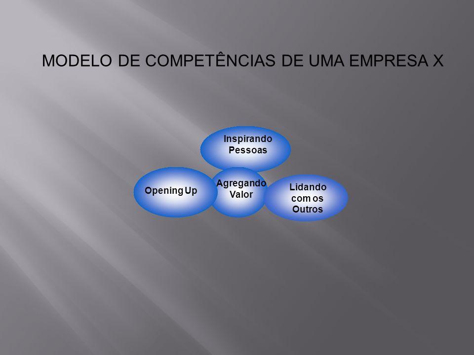 MODELO DE COMPETÊNCIAS DE UMA EMPRESA X