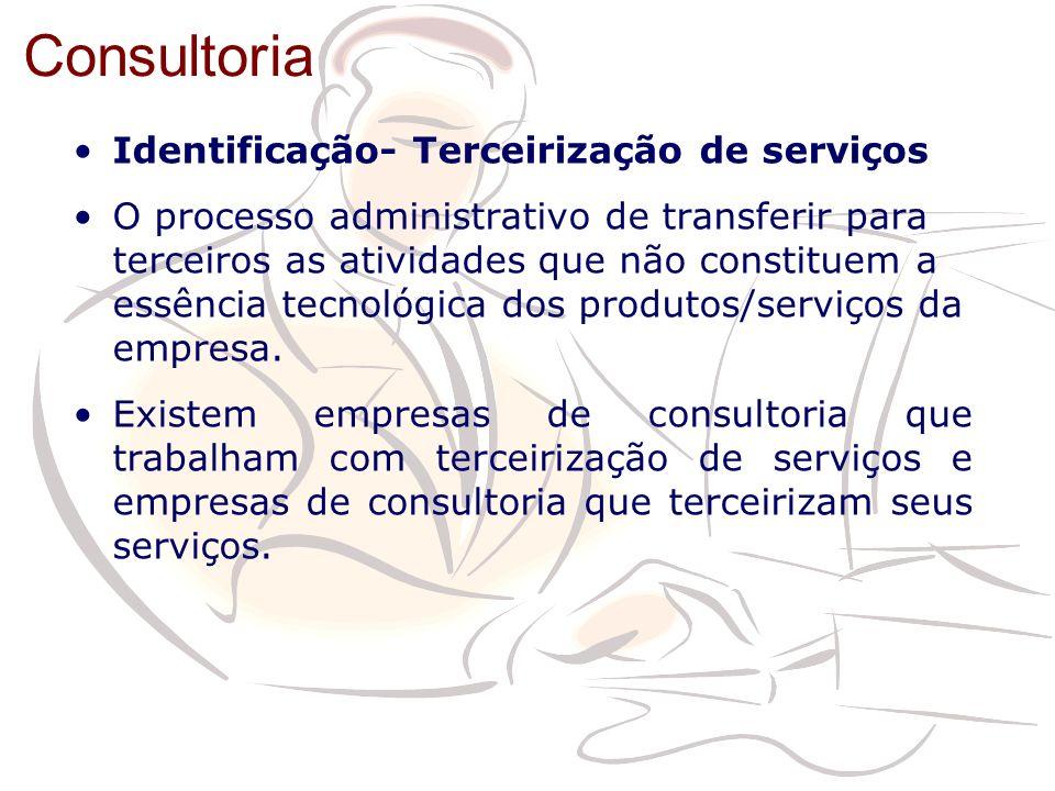 Identificação- Terceirização de serviços