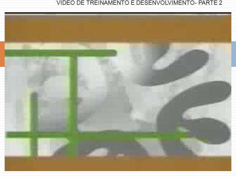 VÍDEO DE TREINAMENTO E DESENVOLVIMENTO- PARTE 2