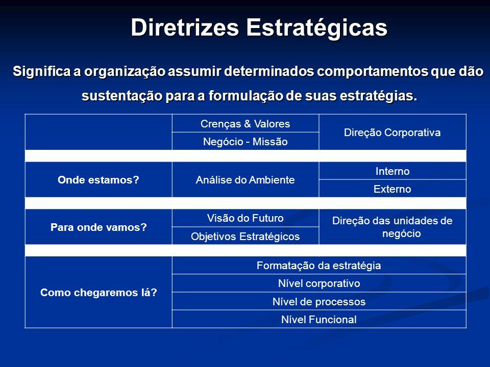 Diretrizes Estratégicas