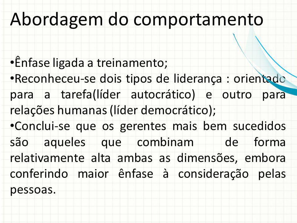 Abordagem do comportamento