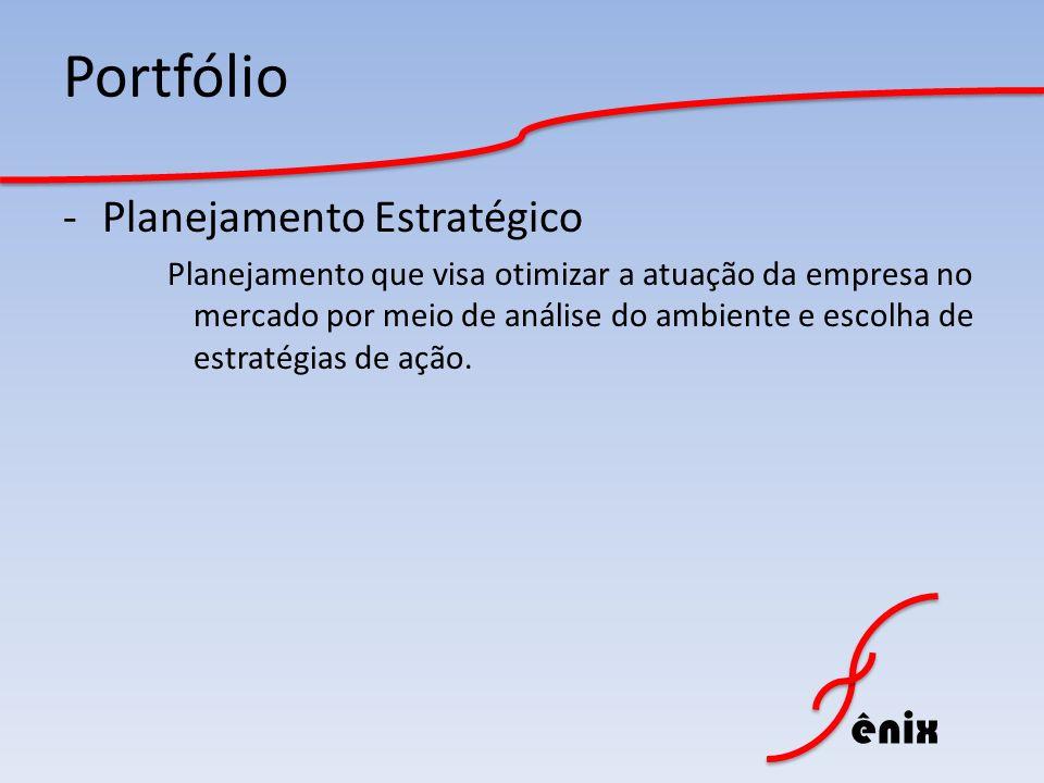 Portfólio Planejamento Estratégico