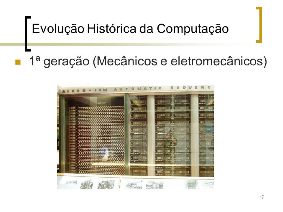 Evolução Histórica da Computação