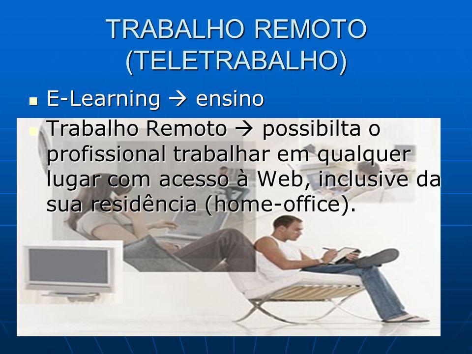 TRABALHO REMOTO (TELETRABALHO)