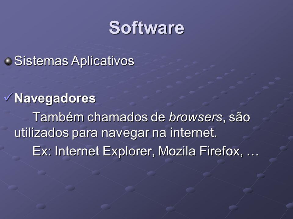 Software Sistemas Aplicativos Navegadores