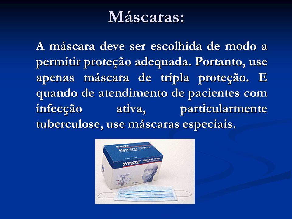 Máscaras: