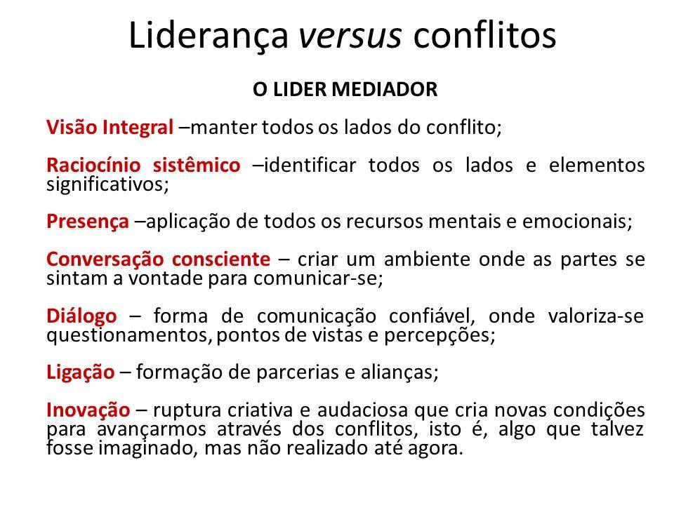 Liderança versus conflitos