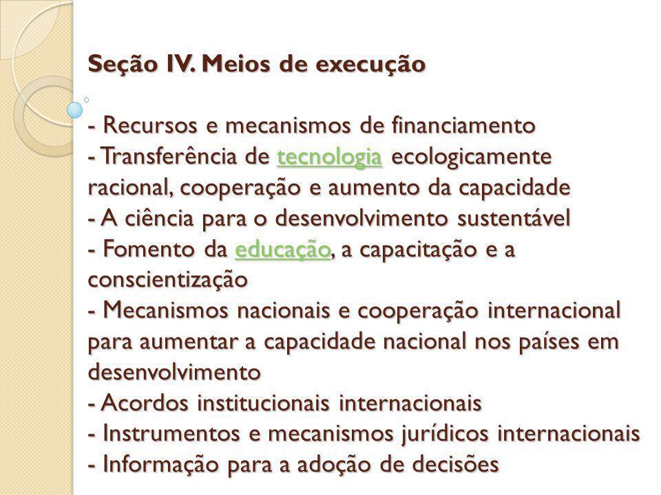 Seção IV.