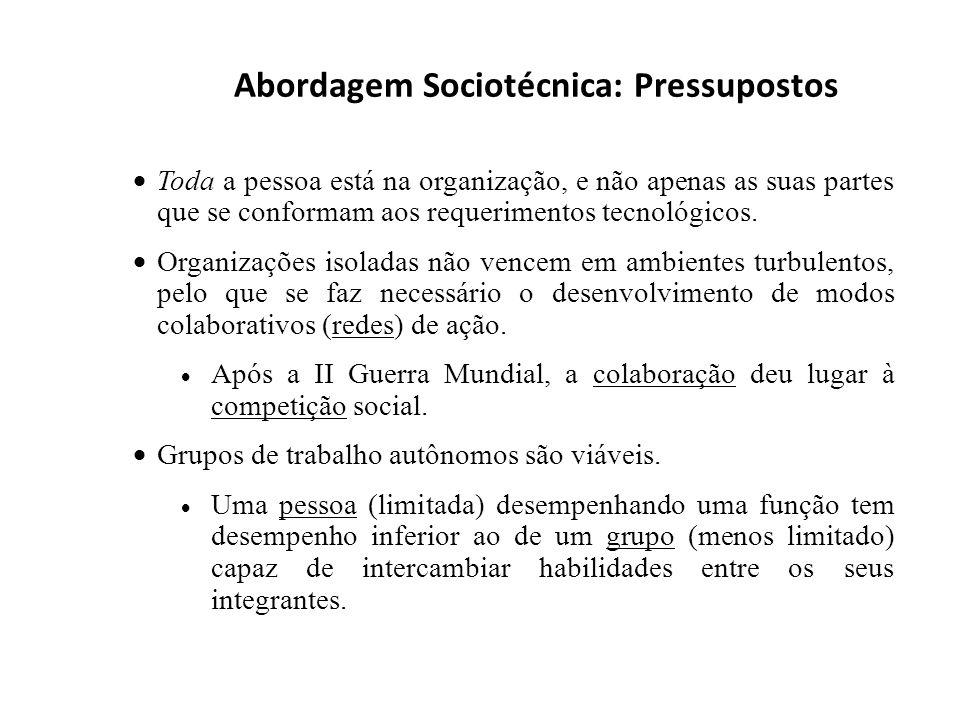 Abordagem Sociotécnica: Pressupostos