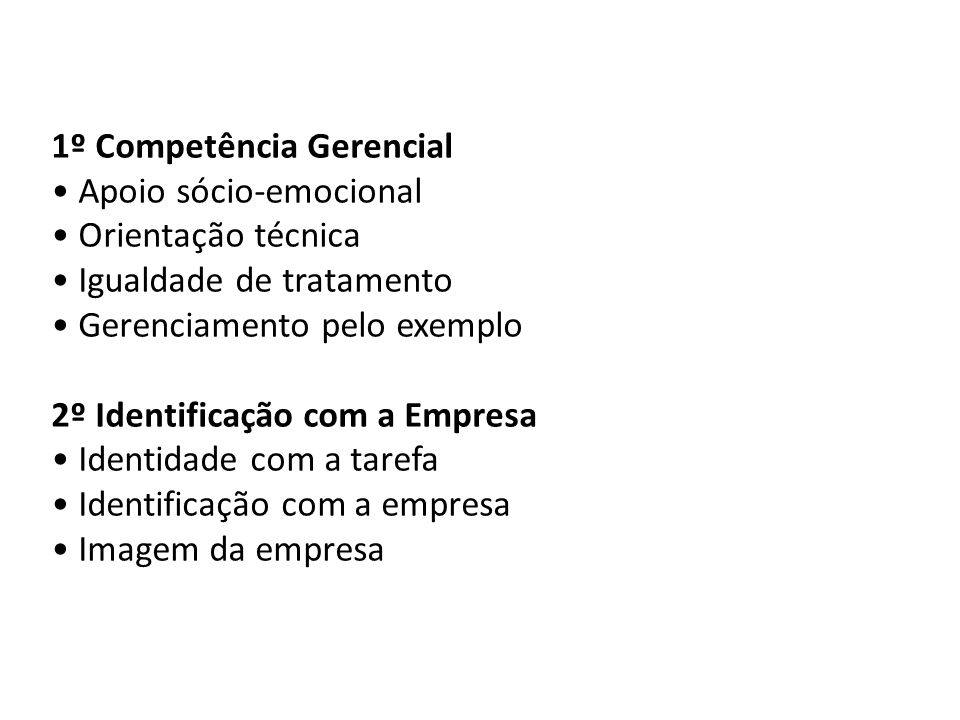 1º Competência Gerencial
