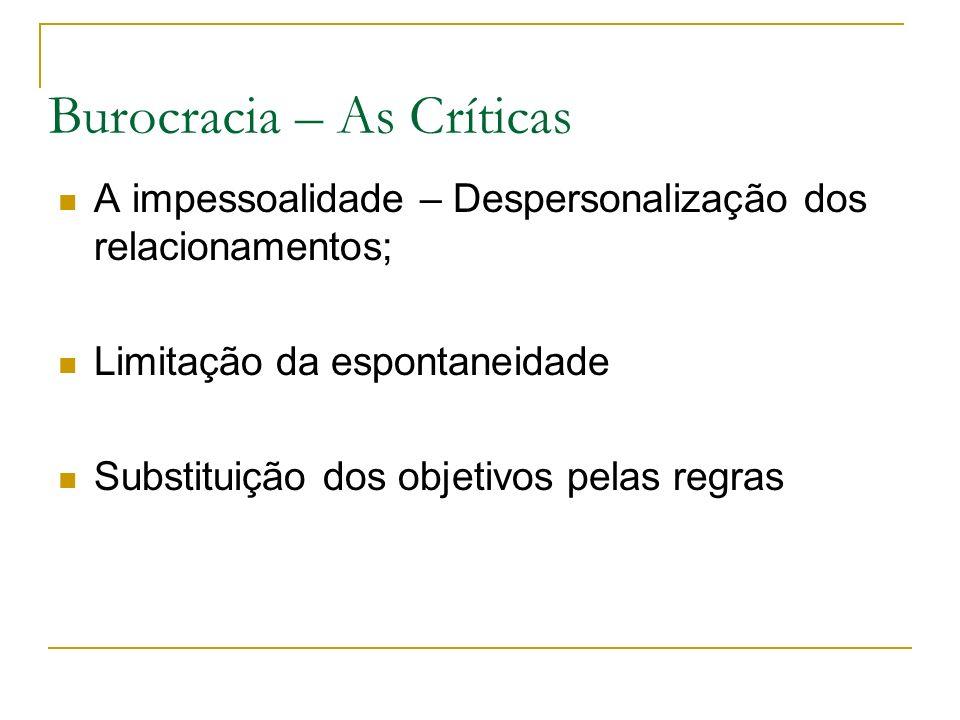 Burocracia – As Críticas