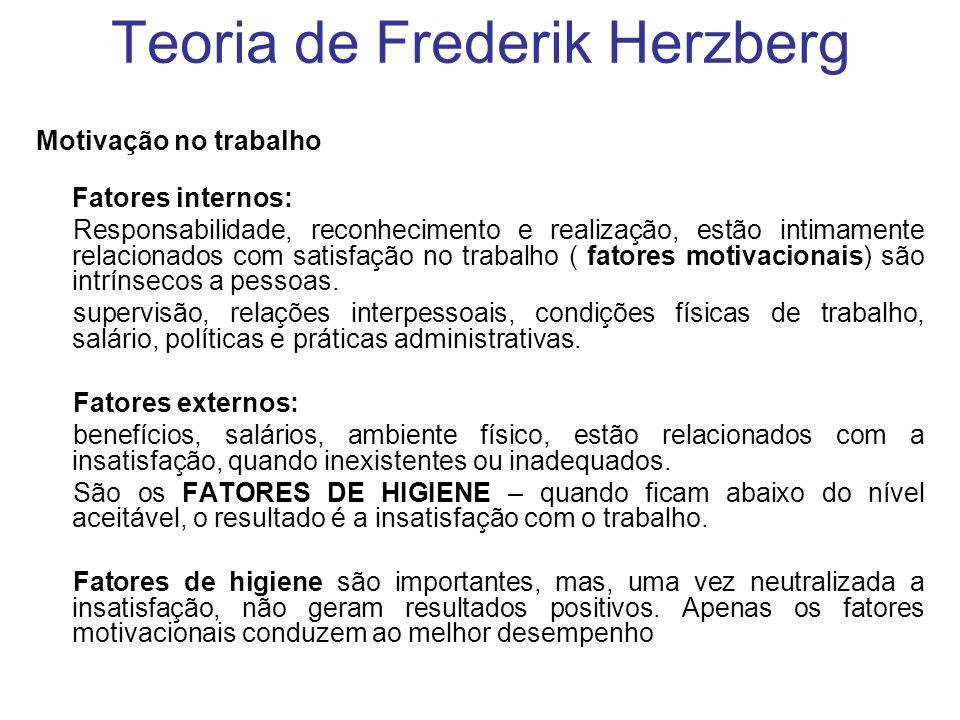 Teoria de Frederik Herzberg