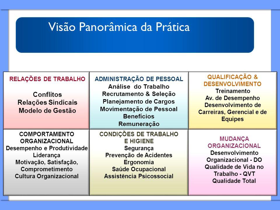 Visão Panorâmica da Prática