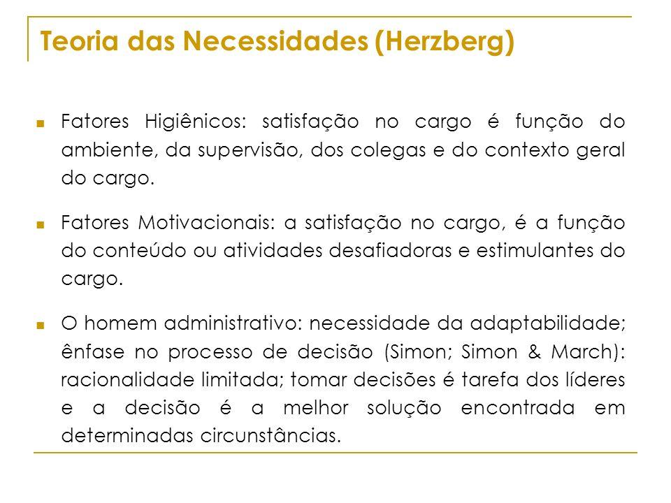 Teoria das Necessidades (Herzberg)